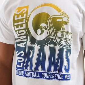 Junk food LA Rams NFL soft tshirt